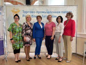 Делегация женщин - предпринимателей из Московской области Одинцовского района прибыла в Казань по персональному приглашению ТПП Республики Татарстан