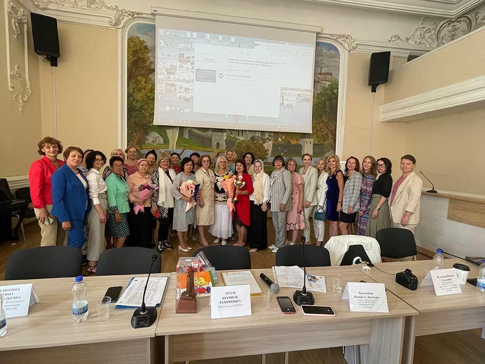 30 июля 2021 года в ТПП Республики Татарстан прошла «Конференция женщин - руководителей РФ»